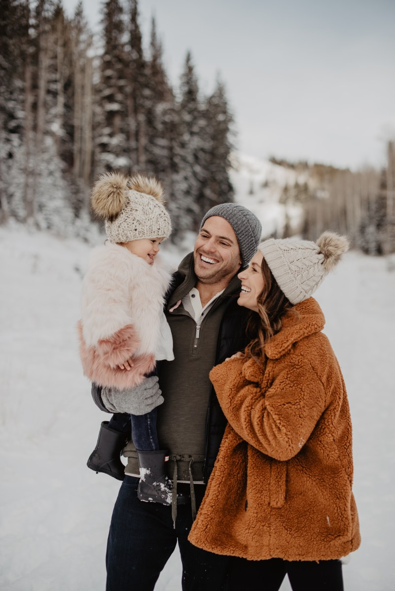 Family Snow Day || Family Photos
